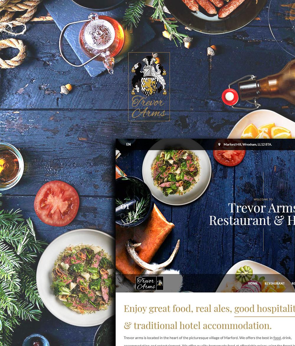 Trevor Arms Website