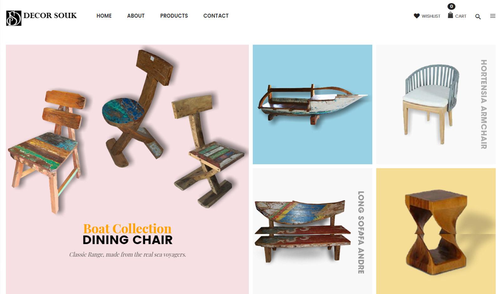 Decor souk website